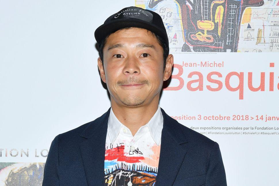 Yusaku Maezawa is a fervent art collector.