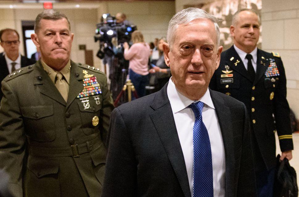 Former Defense Secretary Jim Mattis.
