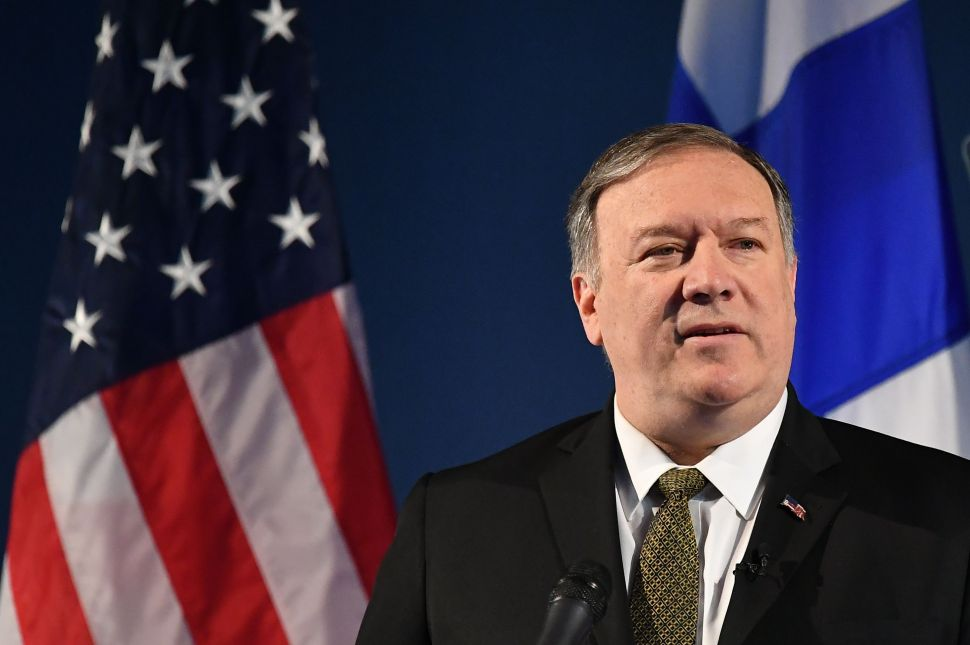 U.S. Secretary of State Mike Pompeo speaks on Arctic policy.