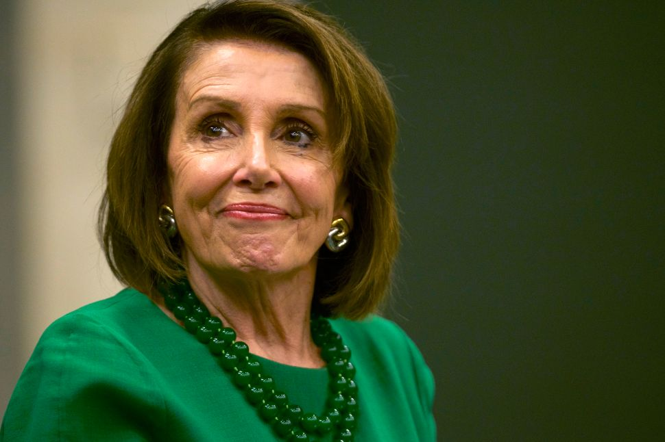 House Speaker Nancy Pelosi (D-CA).