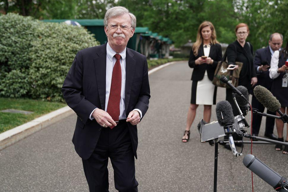 White House National Security Advisor John Bolton.