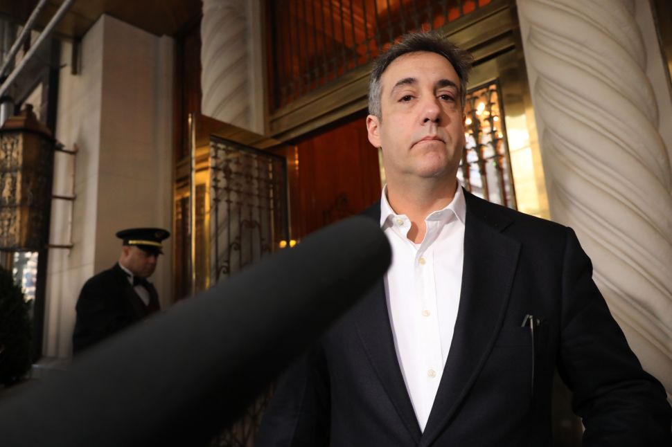 Michael Cohen, the former personal attorney to President Donald Trump.