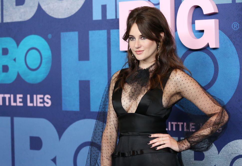 Shailene Woodley attends the 'Big Little Lies' Season 2 premiere in NYC.