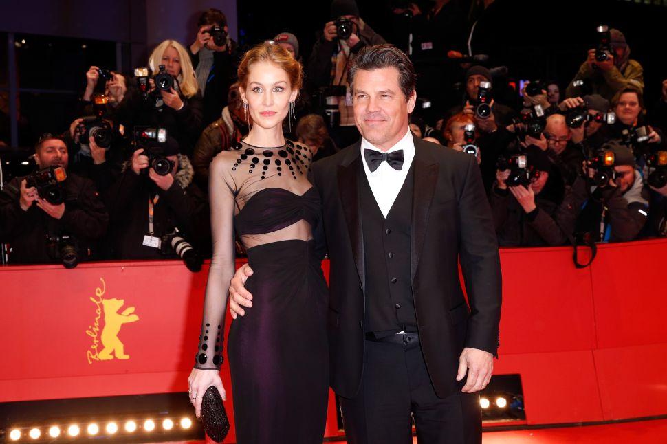 Actor Josh Brolin and his wife Kathryn Boyd Brolin.