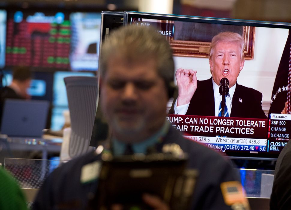 President Trump's tweets are often triggers to dramatic stock movements.