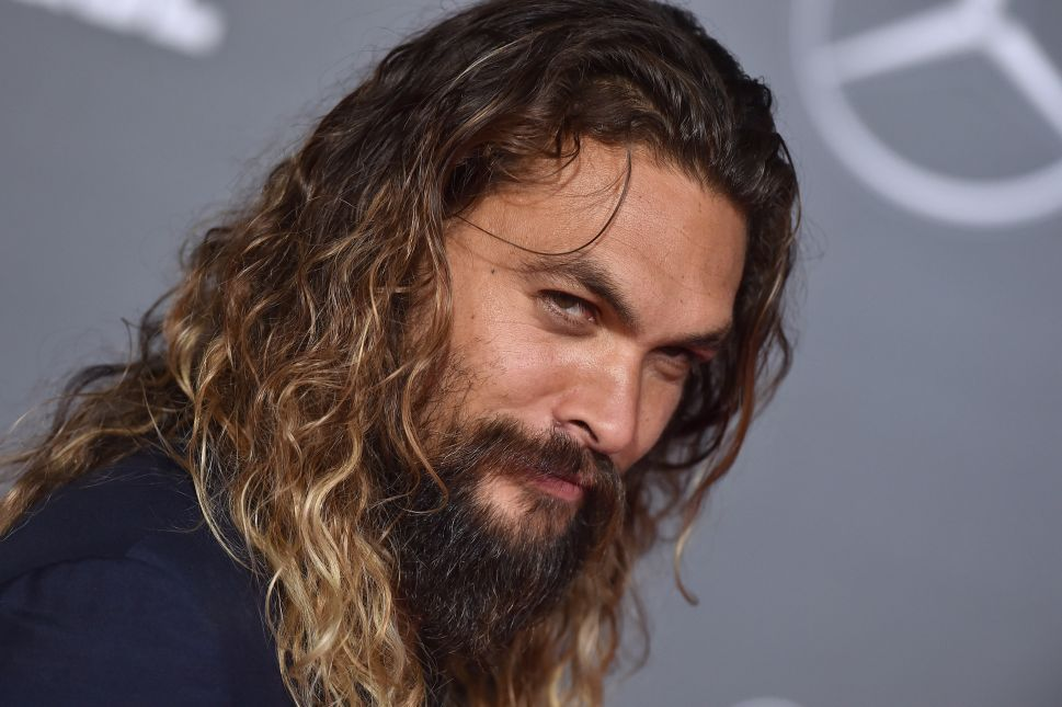 Actor Jason Momoa.
