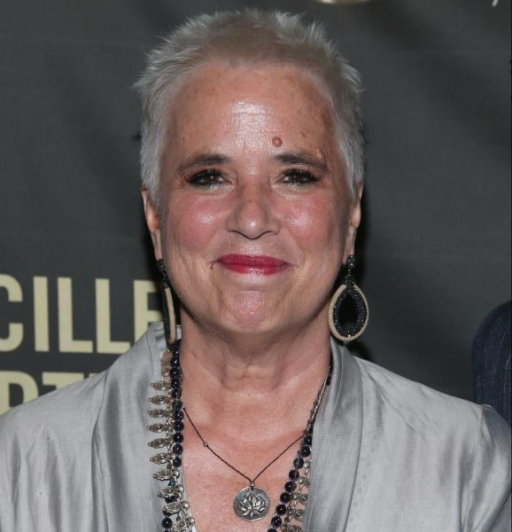 Eve Ensler at the Lucille Lortel Awards in New York City.