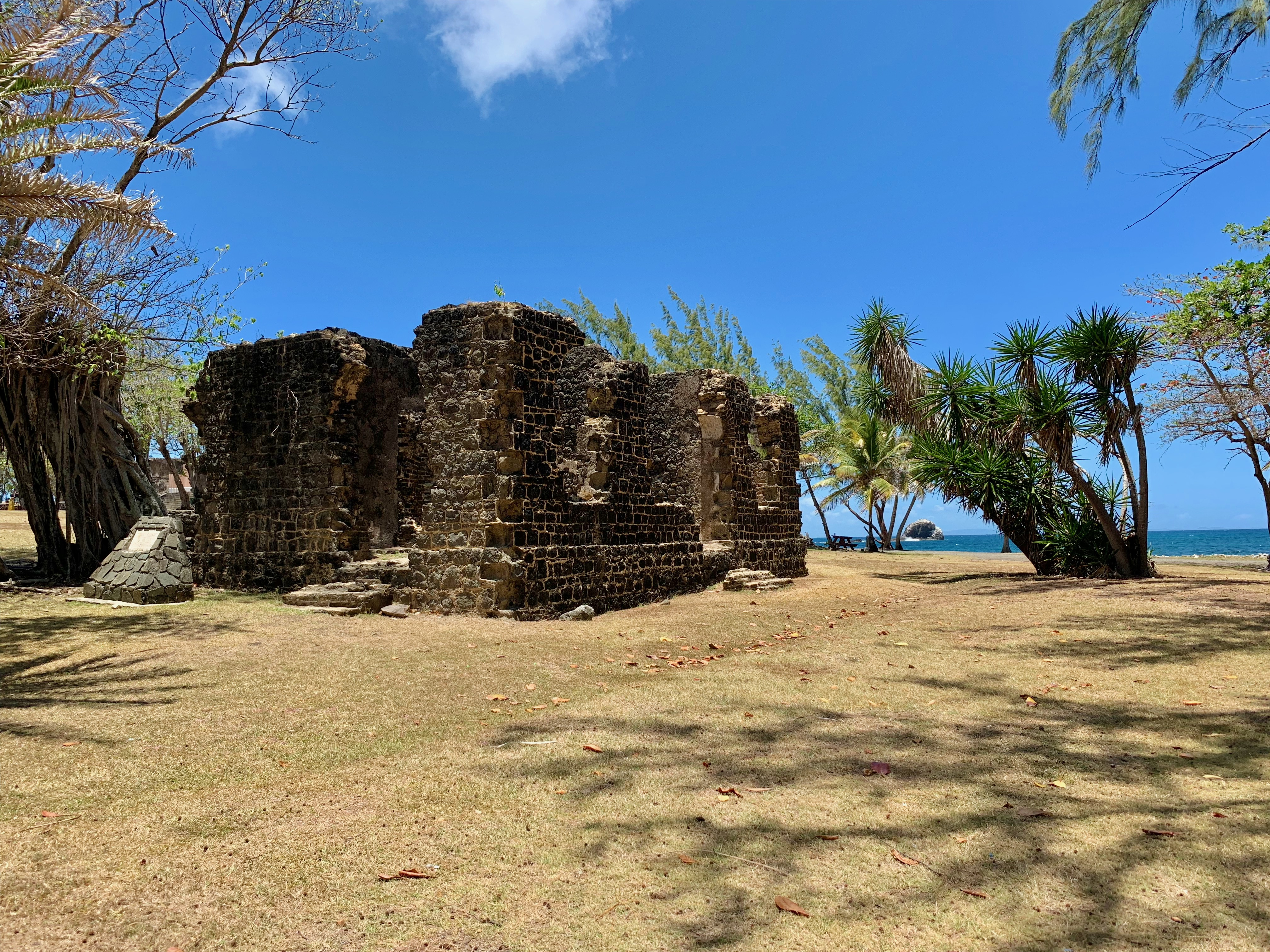 Pigeon Island in St. Lucia.