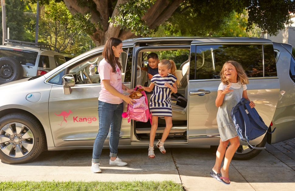 Kango hires vetted drivers with childcare experience to ensure safety for kids' ride-sharing.