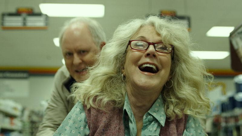 John Lithgow and Blythe Danner in The Tomorrow Man.