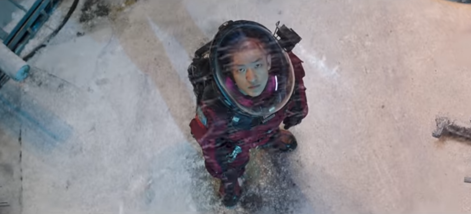 The Wandering Earth Netflix Chinese movie sci-fi