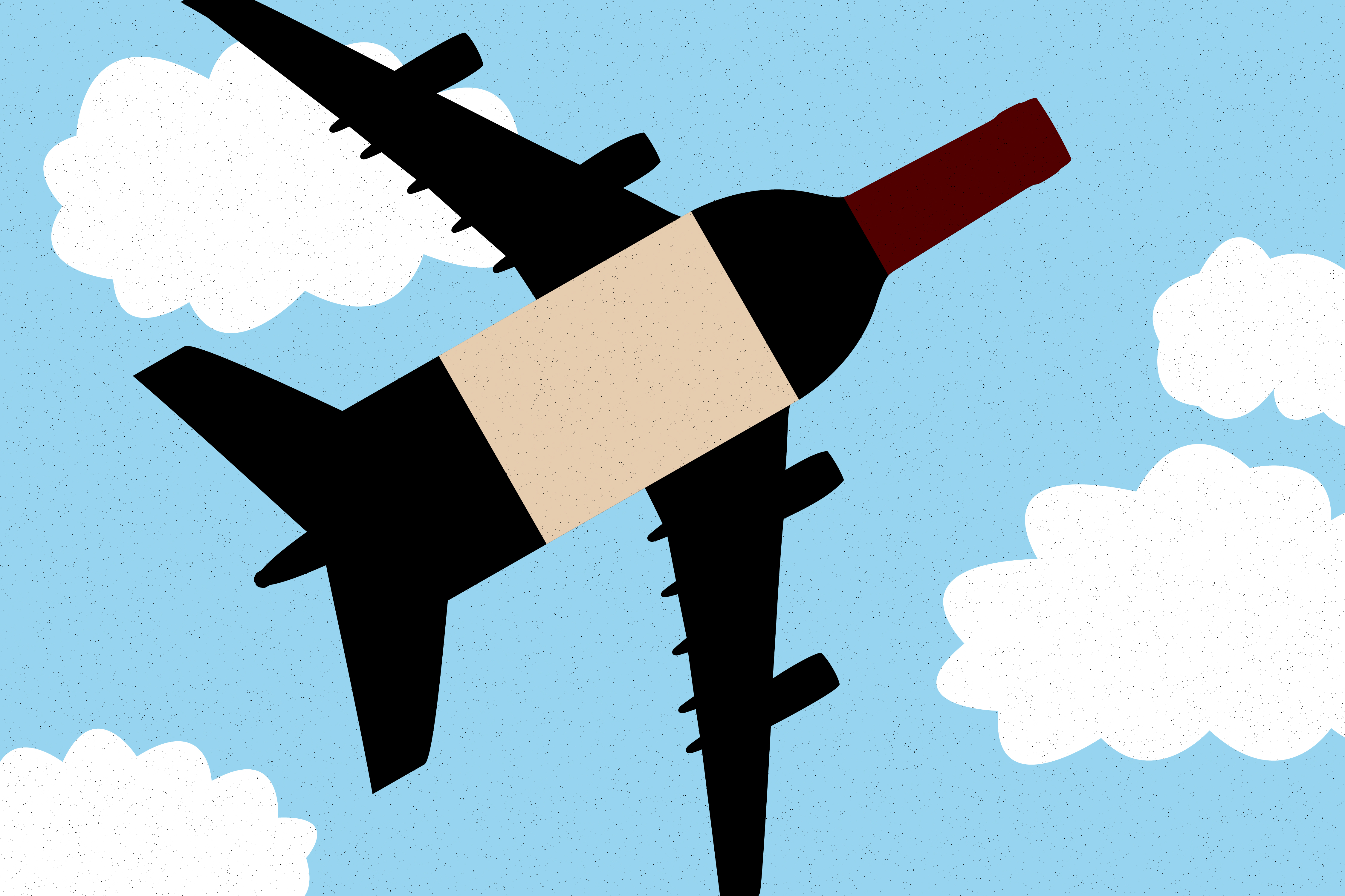 Sommeliers in the Sky