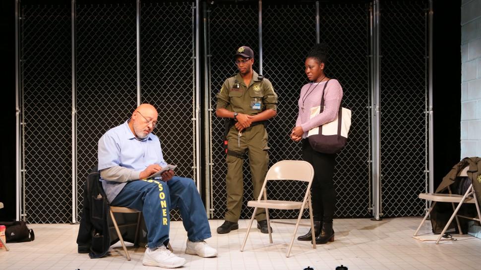 Keith Randolph Smith, Eric Berryman, and Zenzi Williams in Lockdwon.