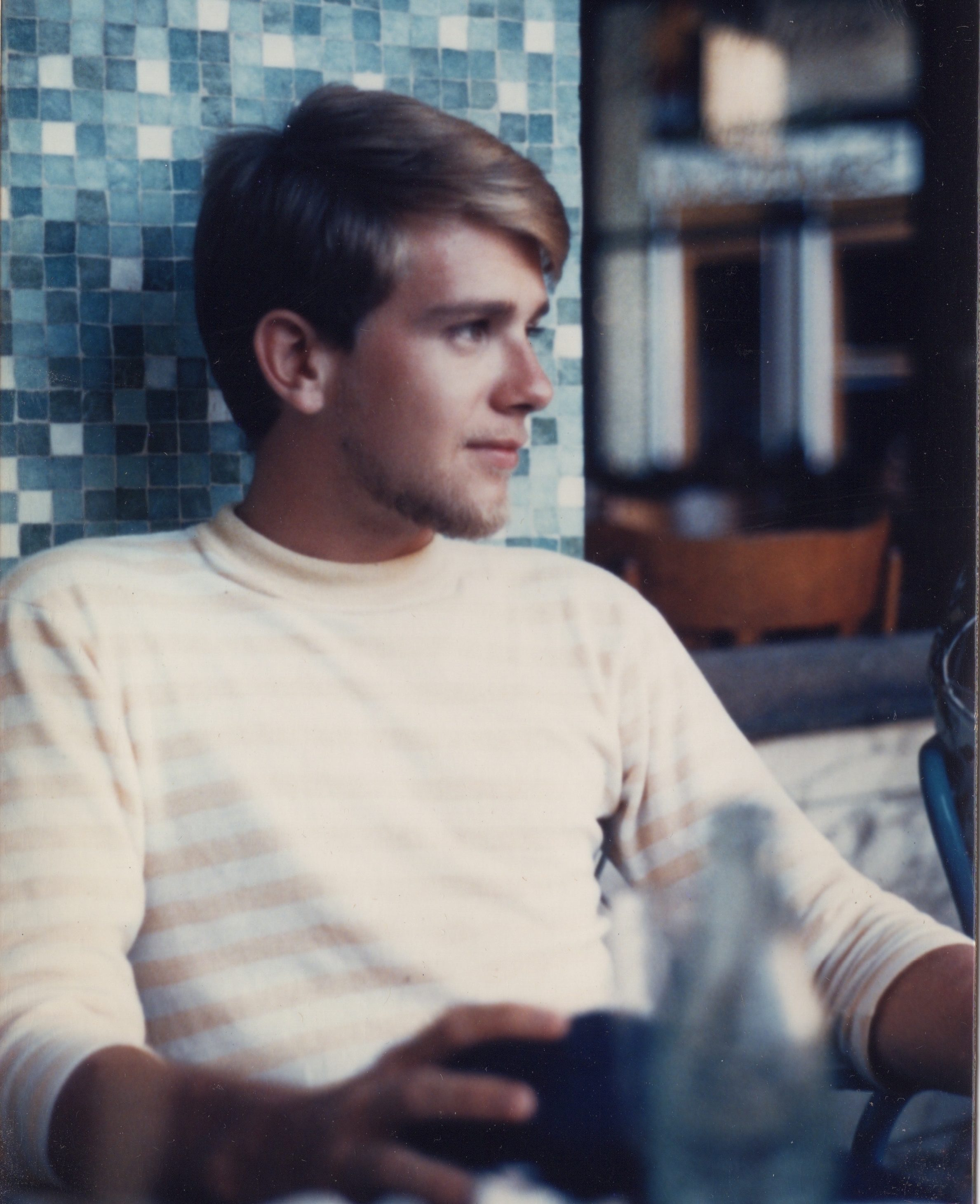 Terrence McNally in his early 20s circa 1962