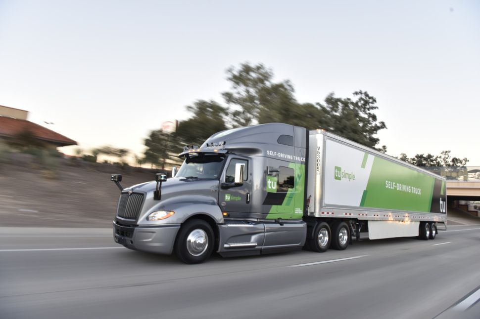 The United States Postal Service has launched a pilot program to use automated trucks for deliveries.