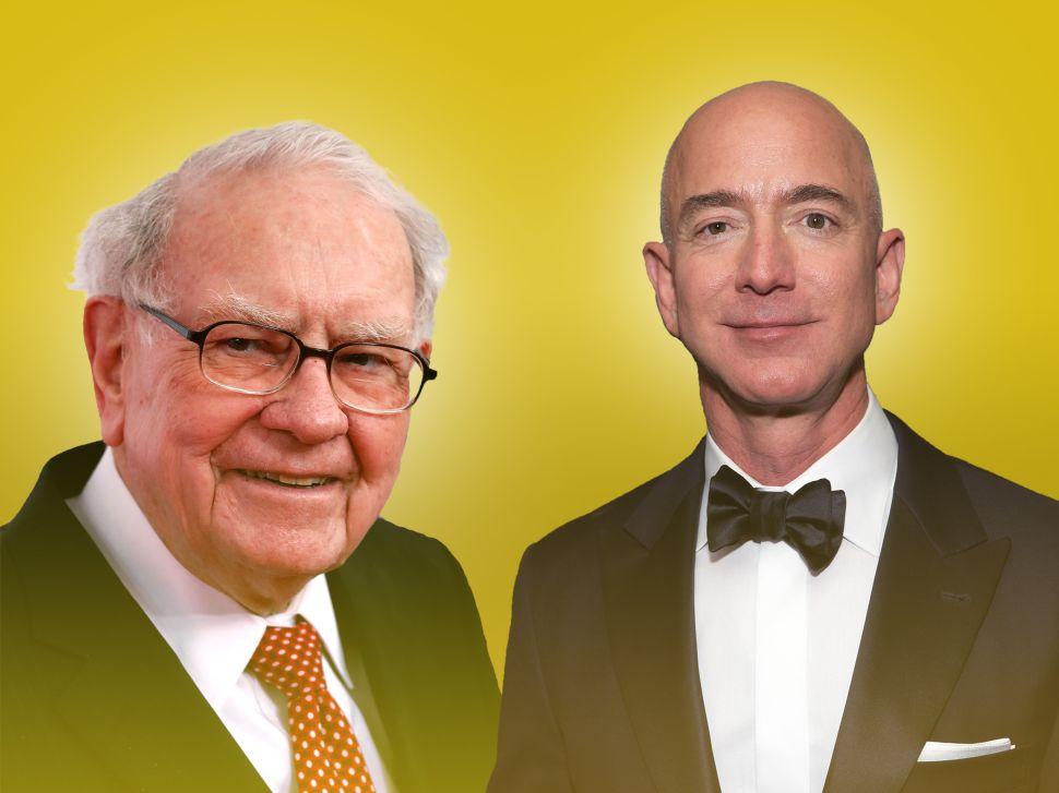 Warren Buffett has been a fan of Jeff Bezos despite not investing in Amazon for years.