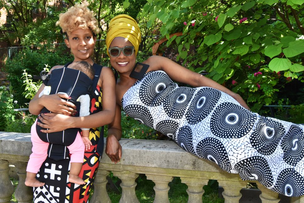 Matipa and Mercy Nyamangwanda, co-founders of EnnYe Collection