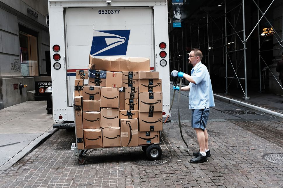 Amazon and the US Postal Service