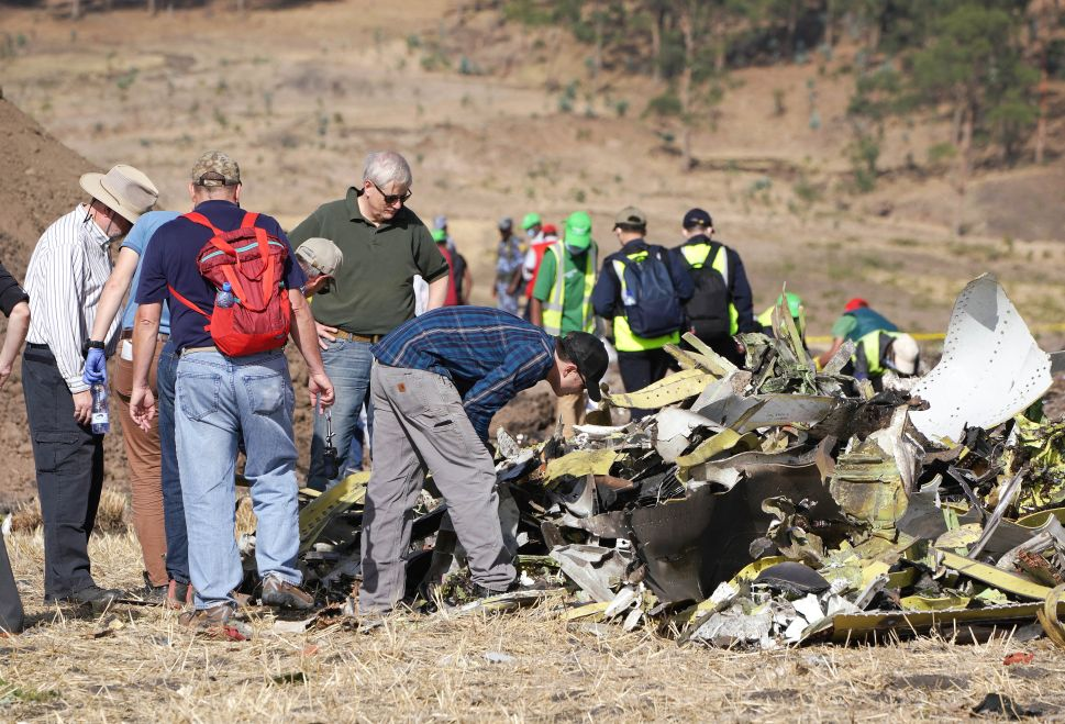 Boeing 737 Max Ethiopia Crash Site