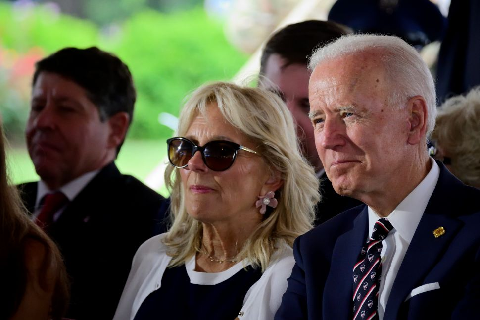 Joe Biden and Dr. Jill Bide