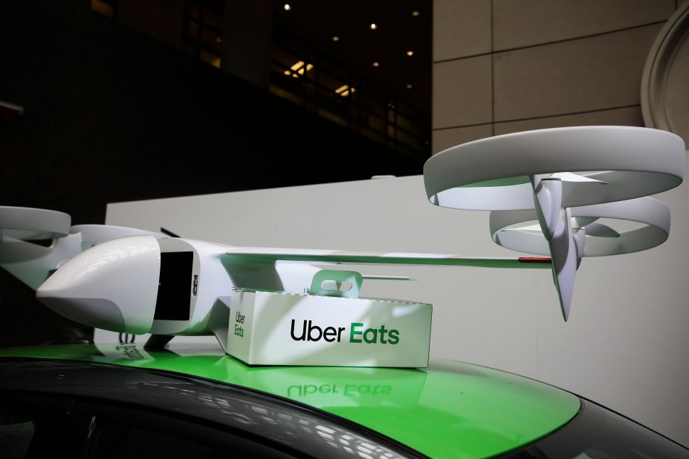 Uber Eats drone delivery was unveiled at the 2019 Uber Elevate Summit.