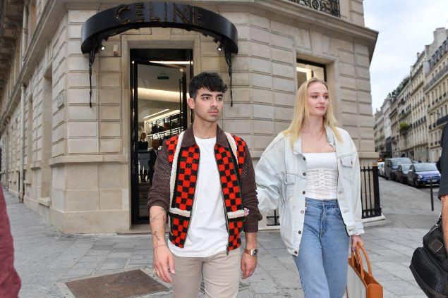 Sophie Turner Joe Jonas paris
