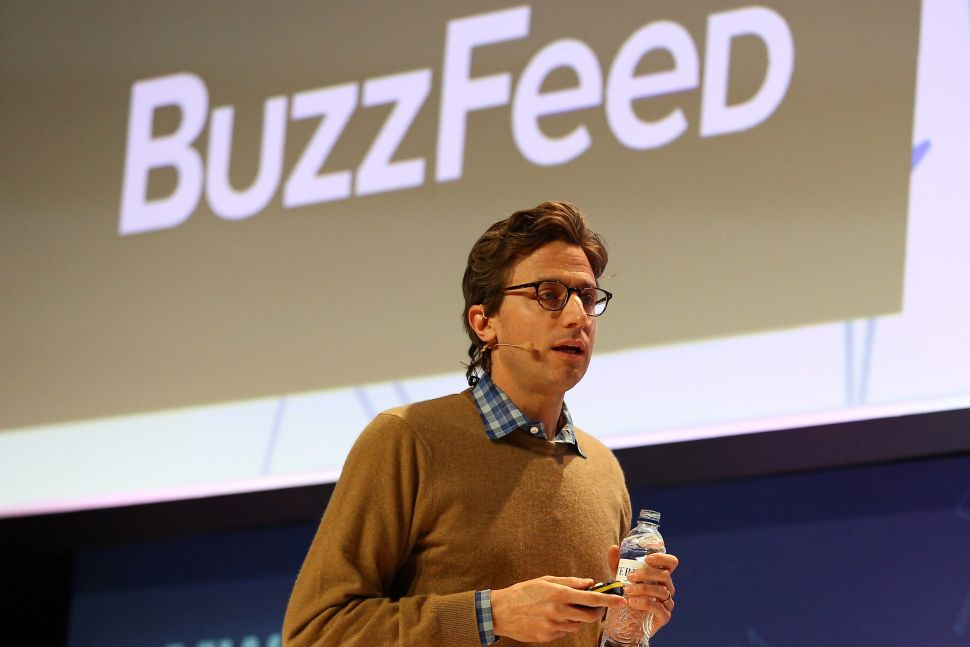 BuzzFeed founder and CEO Jonah Peretti.