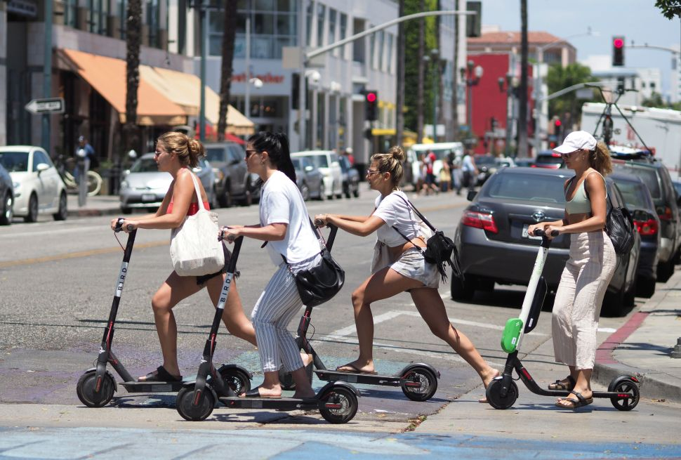 A new study shows injuries from riding e-scooters have tripled over the past decade.