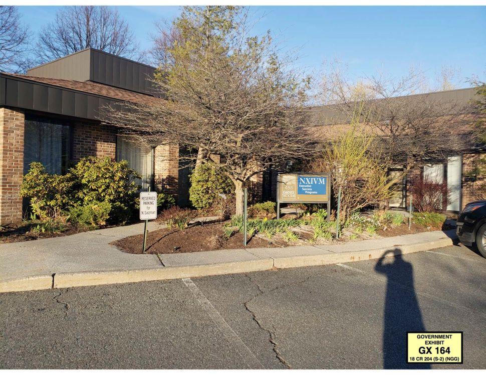 NXIVM's headquarters.