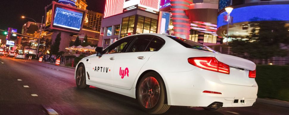 Lyft's Aptiv autonomous technology is being tested on the Las Vegas strip.