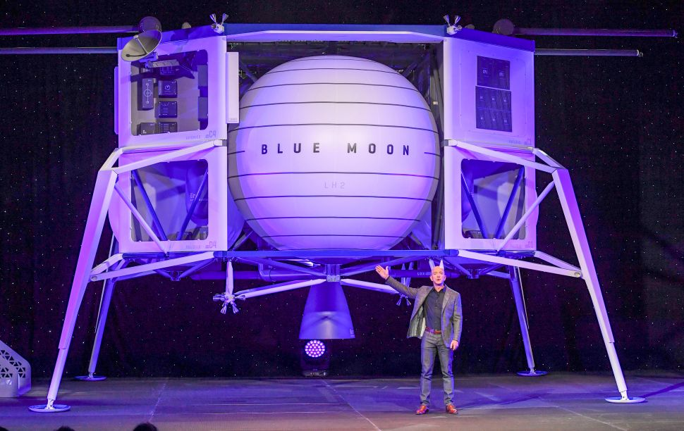 Jeff Bezos' space exploration company Blue Origin has scored three NASA contracts for the 2024 moon landing mission.