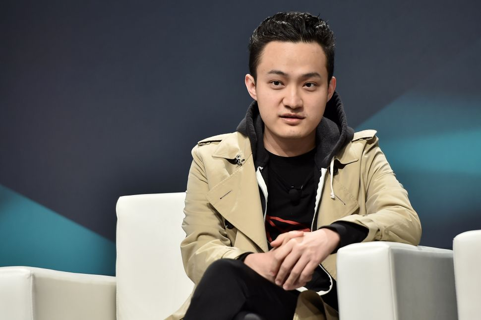 CEO of Tron Justin Sun