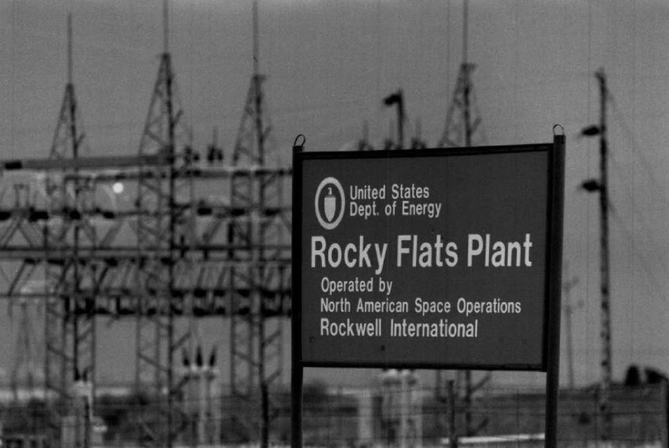 The Rocky Flats Plant, circa 1989.