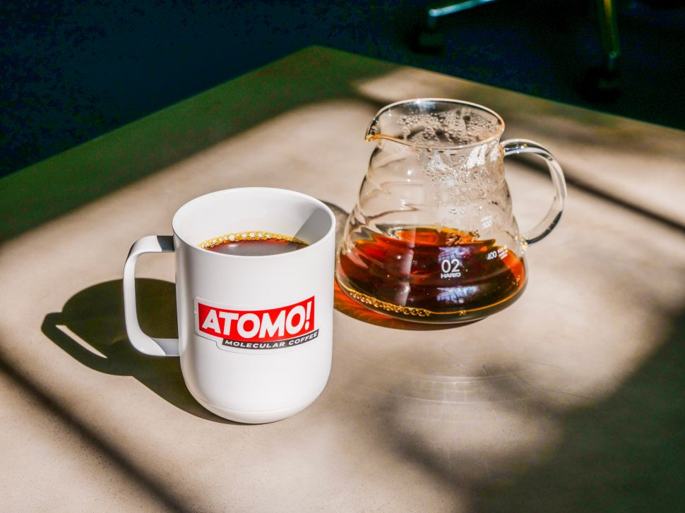 Atomo is developing molecular coffee to bring to the mass market.