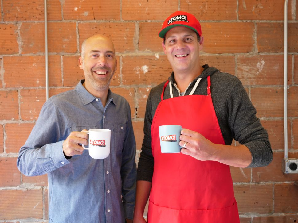 Atomo co-founders Andy Kleitsch and Jarret Stopforth