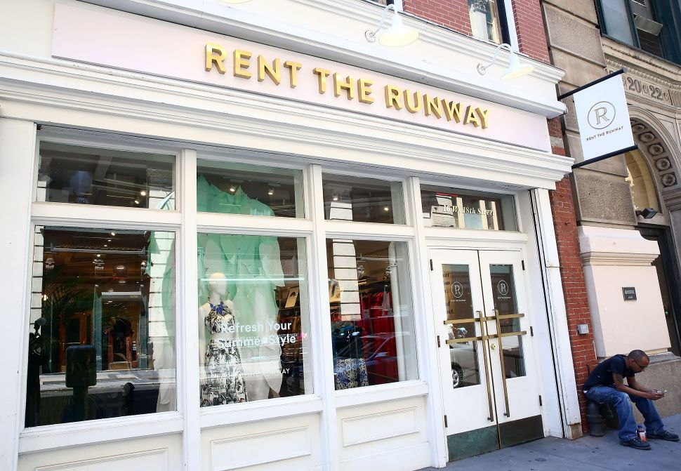 Established fashion retailers are chasing the subscription rental model that Rent the Runway pioneered.