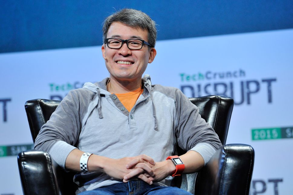 Fitbit CEO and co-founder James Park.