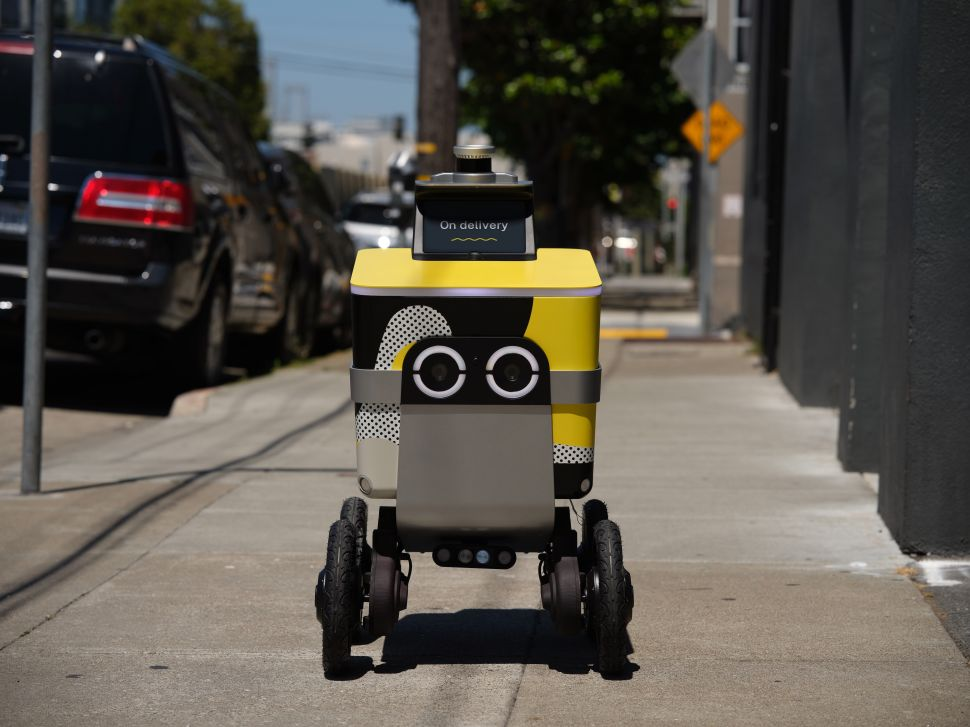 Postmates received approval from San Francisco Public Works to operate autonomous food delivery rovers.