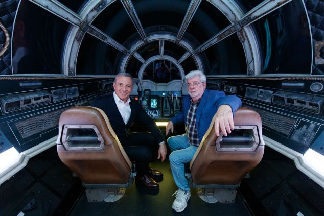 Disney Star Wars Bob Iger George Lucas