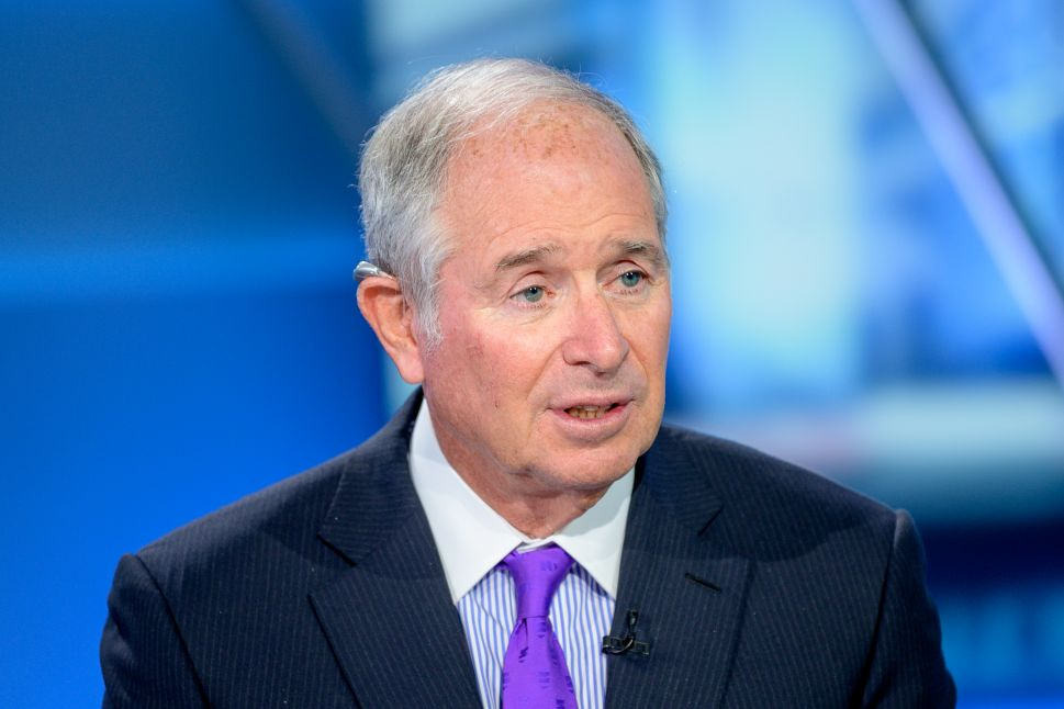 Stephen Schwarzman, chairman and CEO of the Blackstone Group.