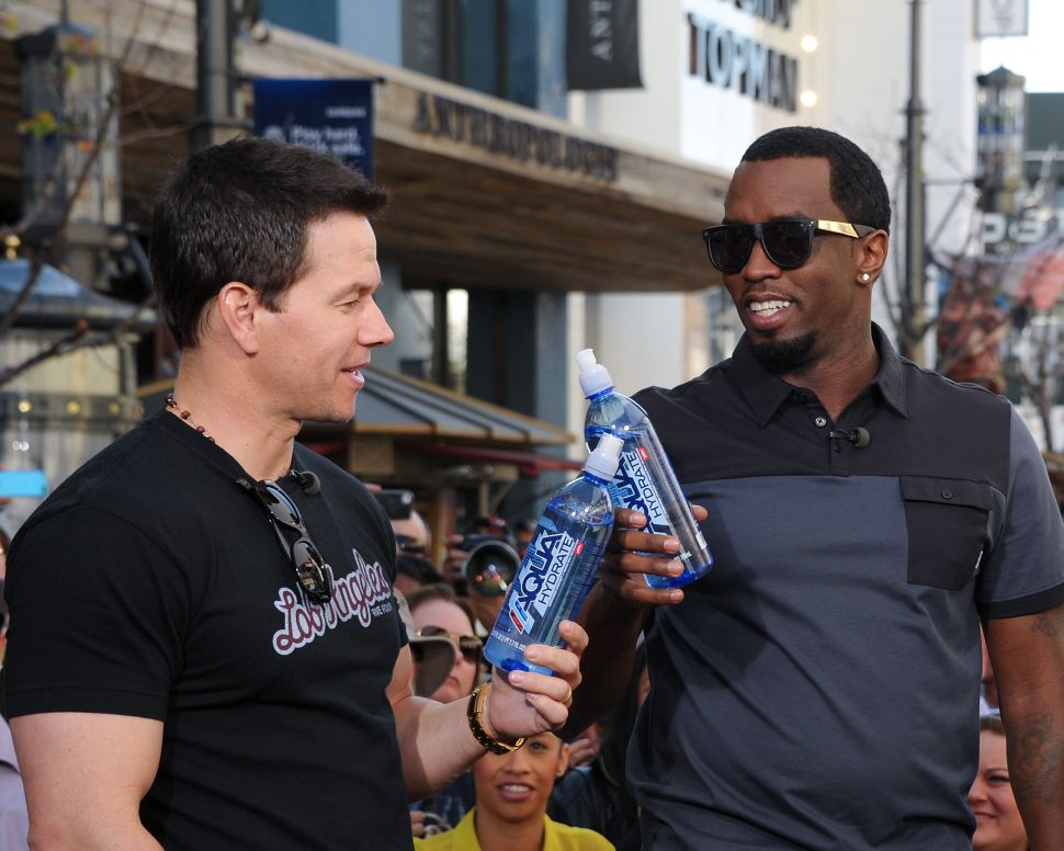 Mark Wahlberg and Sean Combs' Aquahydrate has been sold to the Alkaline Water Co.