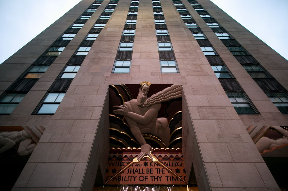 30 Rockefeller Plaza in New York City.