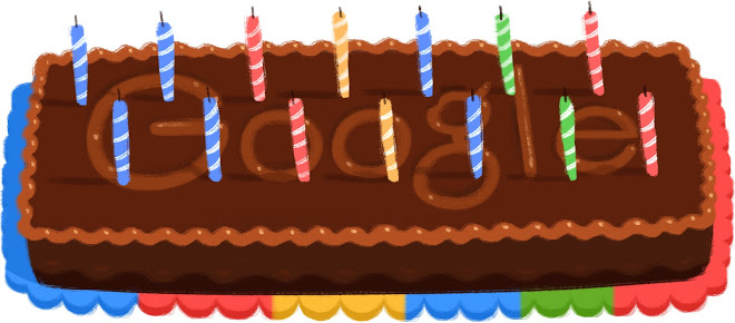 Google's 14th birthday doodle.