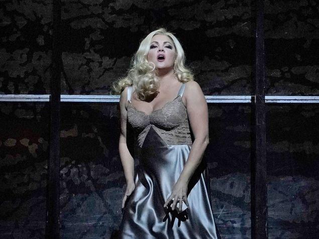 Anna Netrebko in 'Macbeth'.