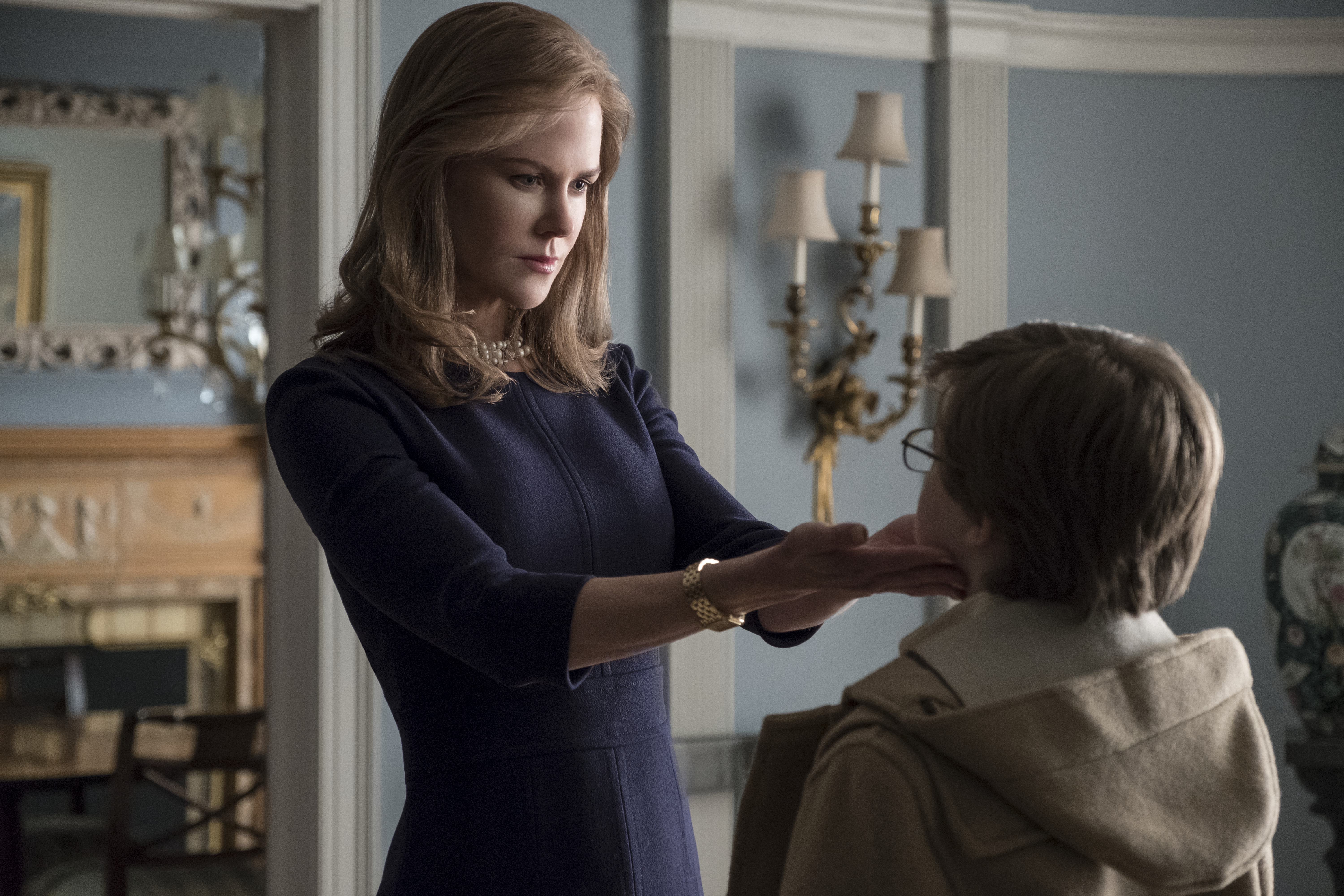Nicole Kidman and Oakes Fegley in The Goldfinch.
