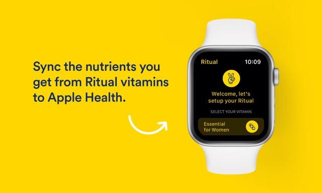 Ritual's app