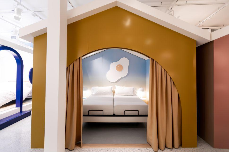 Casper's Sleep Shop allows customers to test out its famous mattress.