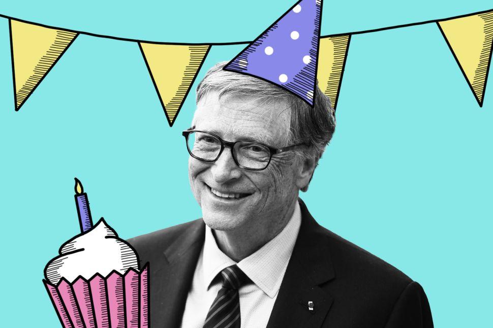 Happy Birthday, Bill Gates!