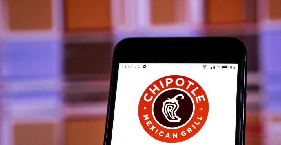 Chipotle's app has seen lots of action this quarter.