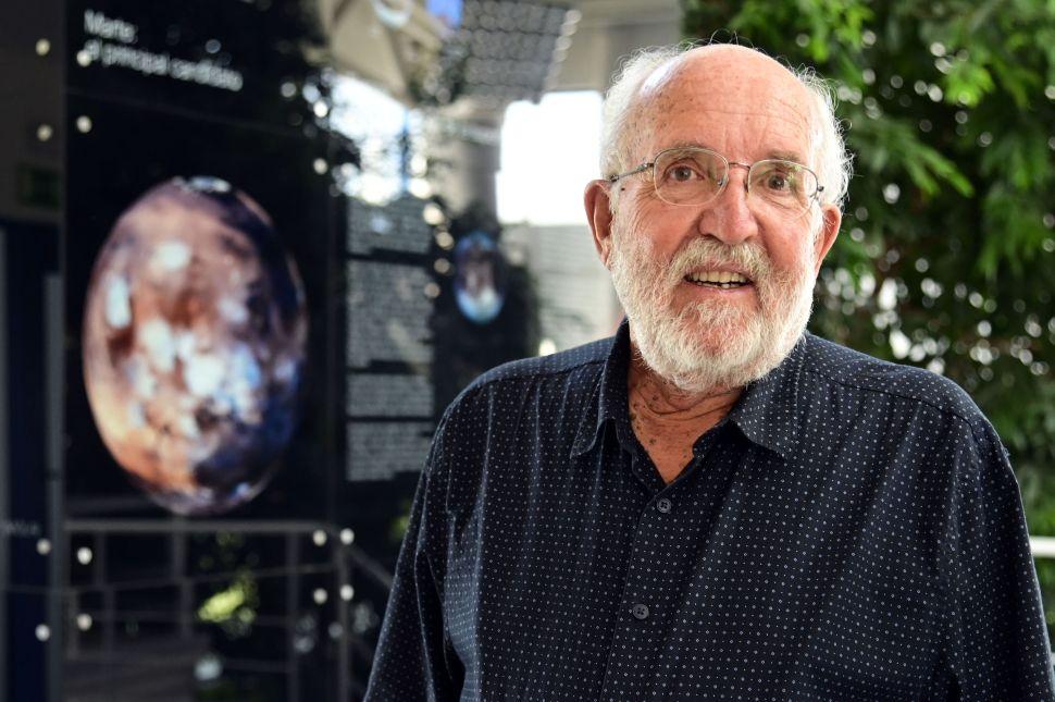 Swiss astrophysicist Michel Mayor